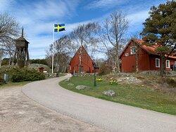 Jättefint kapell i Tylösand/Tjuvahålan