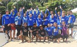 巴厘岛UP2U冲浪学校