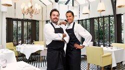 Chefs Oliver Piras & Alessandra Del Favero