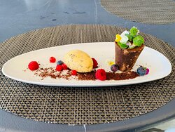 Vaso de chocolate | Gelado de Maracujá