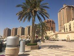 Exclusive manmade island near Doha