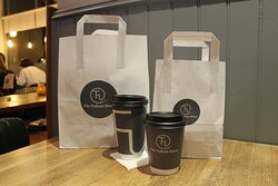 Takeaway meals and drinks available.