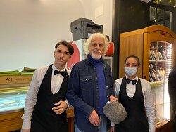 con Michele Placido e Luna Vincenti