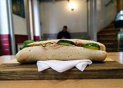 Tonhalas szendvics - reggelire
