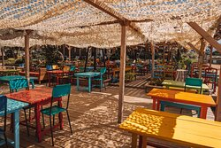 restaurant & sa terrasse