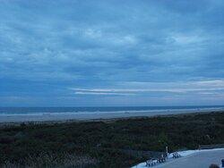 view of beach& ocean from third floor