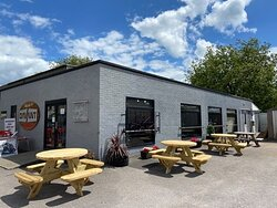 Outside seating available