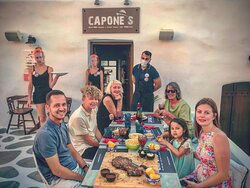 BOOK your Birthday in Capone's and have an unforgettable experience !With love from our team!