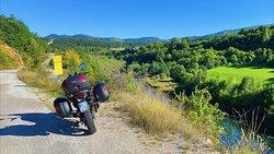 Nearing the border of Montenegro.