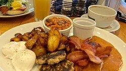 Delicious fresh breakfast!