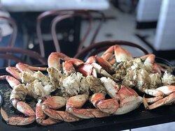 Dungeness crab skillet