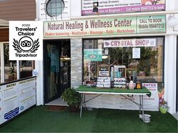The Natural Healing and Wellness center - Crystal Shop - Online and in Paphos Cyprus.