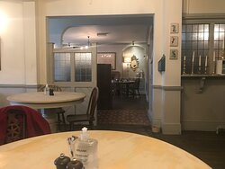 The coffee room.