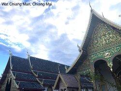 きれいなランナー様式の寺院