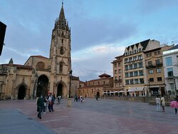 plaza y catedral