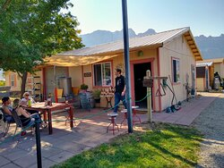 Tasting area for Spanish Valley Vineyards & Winery in Moab, UT