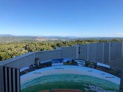 vue depuis l'observatoire
