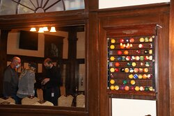 The tour in the billiards room