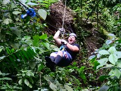 First Time Zip Lining