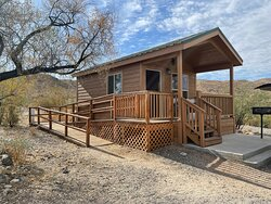 Heron a15, cabin Alamo Lake