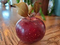 Fresh apples for a crisp