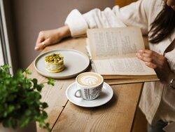 La Boheme Cafe latte