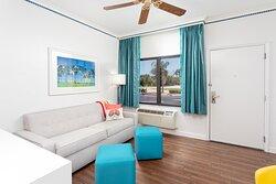 Pool view Suite Living Room
