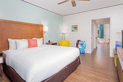 Pool View Suite Bedroom