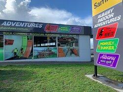 Find us next to Good Sammy's, corner Sanford Rd