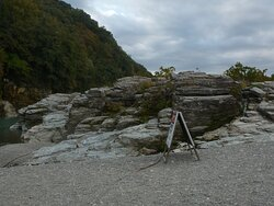 長瀞の岩畳