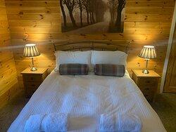 Wensleydale Lodge Bedroom