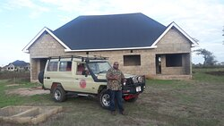 One of our best safari Guide Barnabas is ready  adventures with clients from Romania to Tarangire national park home of Elephants and Baobab trees