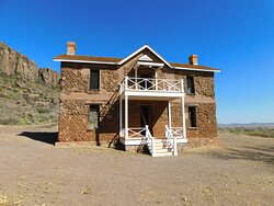 One of the structures at Fort Davis