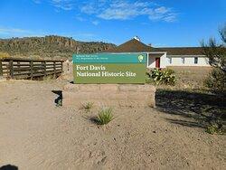 Entrance to Fort Davis