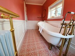 The Peregrine Room at Plas Dinas Country House, Snowdonia, North Wales.