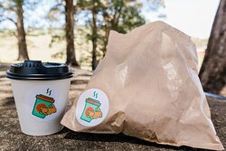 Grab a Coffee & a Bagel & eat in one of Toowoomba's beautiful parks