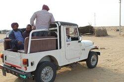 way to the desert