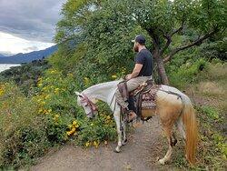 #HORSEBACKRIDINGTOUR #LAKEATITLA #TOURSBYLOCALGUIDE #GUATEMALATRAVEL
