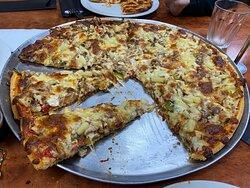 Good size pizzas