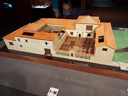 A Roman villa in Pompeii