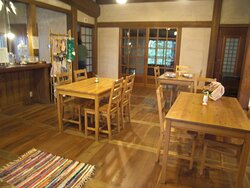椛(momiji)の1階にはカフェがあります