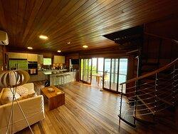 Indoor view of Ti-Fey villa, first floor.