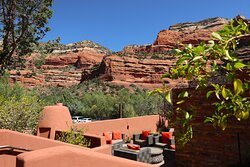 View 180 at The Enchantment Resort 525 Boynton Canyon Rd, Sedona, AZ - Outstanding views and an improved wine list