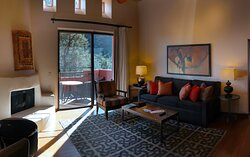 Casita #31 - The Enchantment Resort 525 Boynton Canyon Rd, Sedona, AZ - Living Room