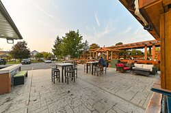 We are offering a nice outdoor patio to dine-in, nice atmosphere to feel.  stay with us. Now you can Check out our latest pictures here... #RispostaBistro #patio #Covid-19 #contactlessDinin #pickupfood #foodporn #deliciousfoods #seafood #italian #restaurant
