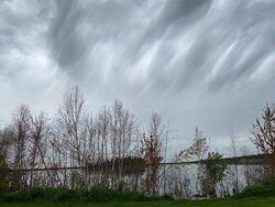 The skies. . . .