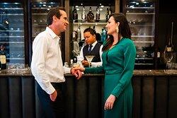 Enjoy a aperitif in the new Qunu Bar.