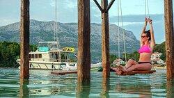 Korcula Adventure Yacht in La Banja Beach club