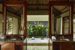 Aman Villas at Nusa Dua, Indonesia - Bathroom