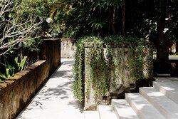 Aman Villas at Nusa Dua, Indonesia - Corridor to Rooms